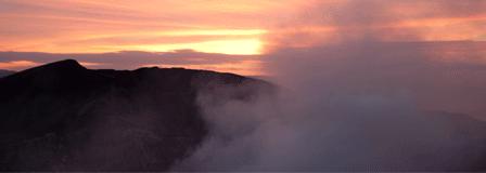 Climbing volcanoes is no big deal